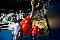 Alex of Spain during futsal match between Spain and France at Day 2 of UEFA Futsal EURO 2018, on January 31, 2018 in Arena Stozice, Ljubljana, Slovenia. Photo by Urban Urbanc / Sportida