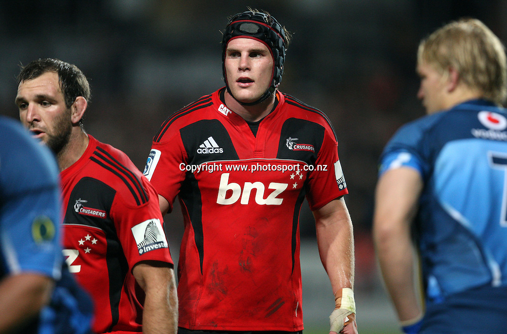 Matt Todd.<br /> Investec Super Rugby - Crusaders v Bulls, 9 April 2011, Alpine Energy Stadium, Timaru, New Zealand.<br /> Photo: Rob Jefferies / www.photosport.co.nz