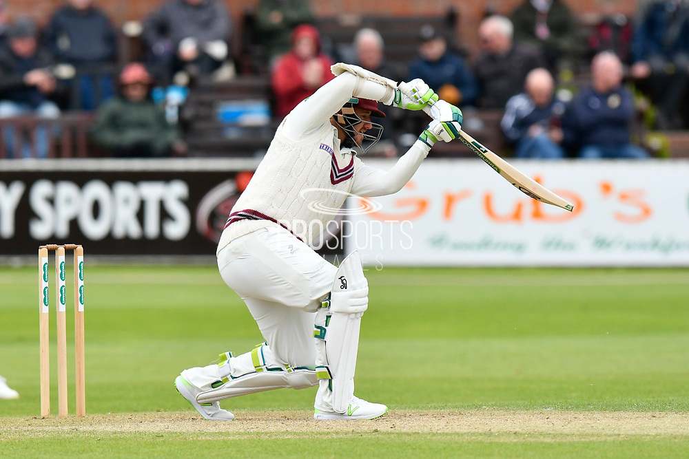 Steve Davies of Somerset batting during the third day of the Specsavers County Champ Div 1 match between Somerset County Cricket Club and Yorkshire County Cricket Club at the Cooper Associates County Ground, Taunton, United Kingdom on 29 April 2018. Picture by Graham Hunt.