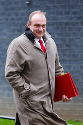 © Licensed to London News Pictures. 02/12/2014. LONDON, UK. Energy and Climate Secretary, Ed Davey attending to a cabinet meeting on Downing Street on Tuesday, 2 December 2014. Photo credit: Tolga Akmen/LNP