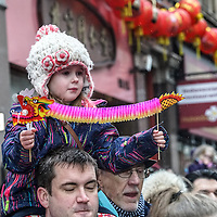 London celebrates the Chinese New Year of the Rooster