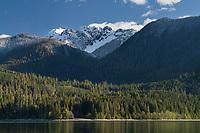 Mount Shuksan seen from Baker Lake, North Cascades Washington