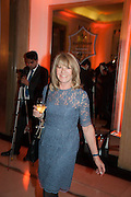 INGRID SEWARD, The Veuve Clicquot Business Woman Of The Year Award, celebrating women's excellence in business and commitment to sustainability. Claridge's, Brook Street, London, 22 April 2013
