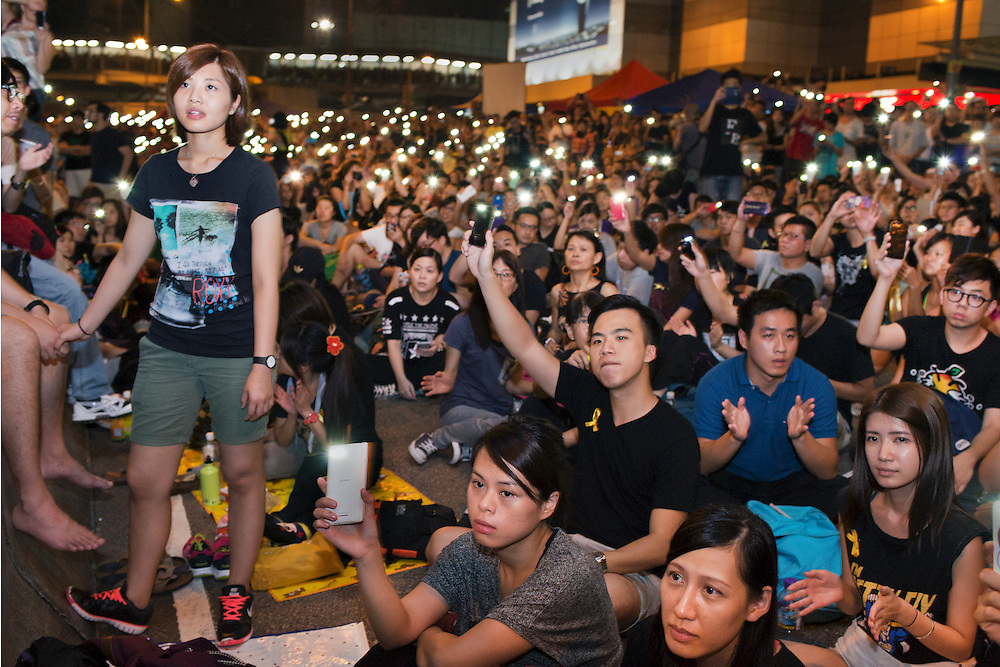 Hong Kong's democracy protest in Admiralty