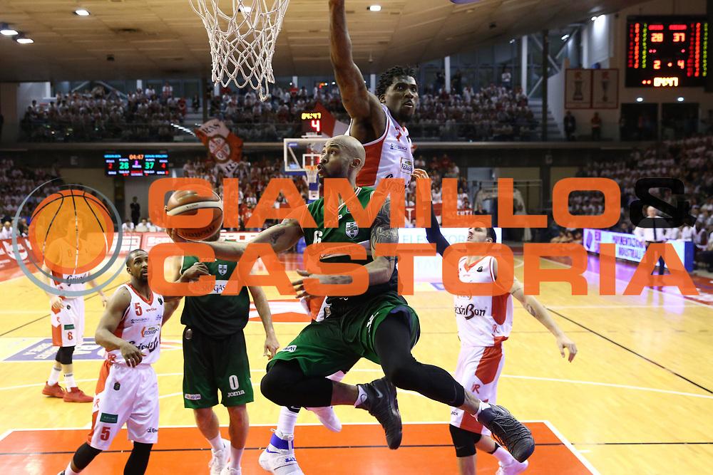 Logan David<br /> Grissin Bon Reggio Emilia - Sidigas Avellino<br /> Playoff gara 3<br /> Legabasket A 2016/2017<br /> Reggio Emilia 17/05/2017<br /> Foto Ciamillo-Castoria