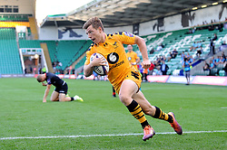 Will Porter of Wasps in action - Mandatory byline: Patrick Khachfe/JMP - 07966 386802 - 14/09/2019 - RUGBY UNION - Franklin's Gardens - Northampton, England - Premiership Rugby 7s (Day 2)