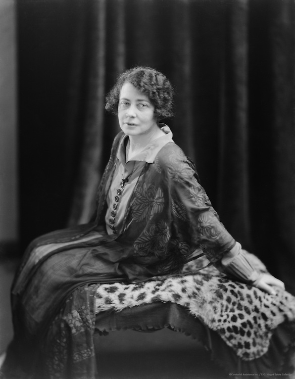 Sarah Millin, South African Author, 1926