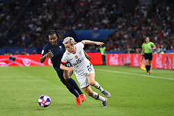 June 29, 2019 - Paris, ile de france, France - Megan Rapinoe (USA) in action during the quarter-final between FRANCE vs USA in the 2019 women's football World cup at Parc des Princes in Paris, on the 28 June 2019. (Credit Image: © Julien Mattia/NurPhoto via ZUMA Press)