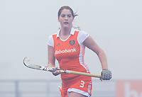 ARNHEM - Hockey. Marloes Keetels woensdag na de oefeninterland in dichte mist tegen Zuid Afrika. FOTO KOEN SUYK