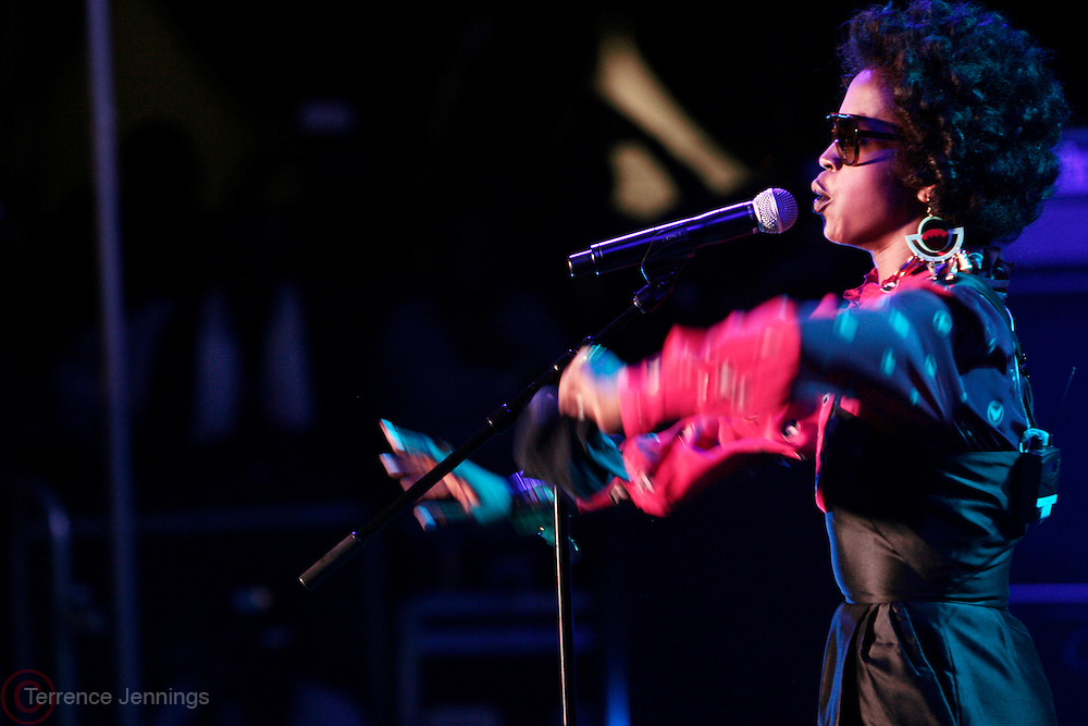 3 September 2011- New York, NY-  Lauryn Hill perfoms at the 11th Annual Rock The Bells Concert Series held on Governors Island on September 3, 2011 in New York City. Photo Credit: Terrence Jennings