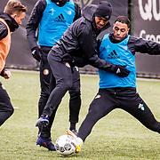 NLD/Rotterdam/20180301 - Training Feyenoord voor de bekerfinale, Renato Tapia