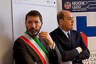 Roma, 10 Aprile  2015<br /> Inaugurazione della casa della salute sul Lungomare Paolo Toscanelli ad Ostia.<br /> Nella foto: Il sindaco di Roma Ignazio Marino e il Presidente della Regione Lazio Nicola Zingaretti.<br /> Rome, April 10, 2015<br /> Inauguration of the house of health, on the waterfront Paolo Toscanelli to Ostia.<br /> Pictured: Rome mayor Ignazio Marino and the President of the Lazio Region Nicola Zingaretti.