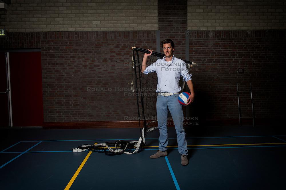 30-05-2016 NED: Training VCV 2 in sporthal West, Veenendaal<br /> Hugo Rijken