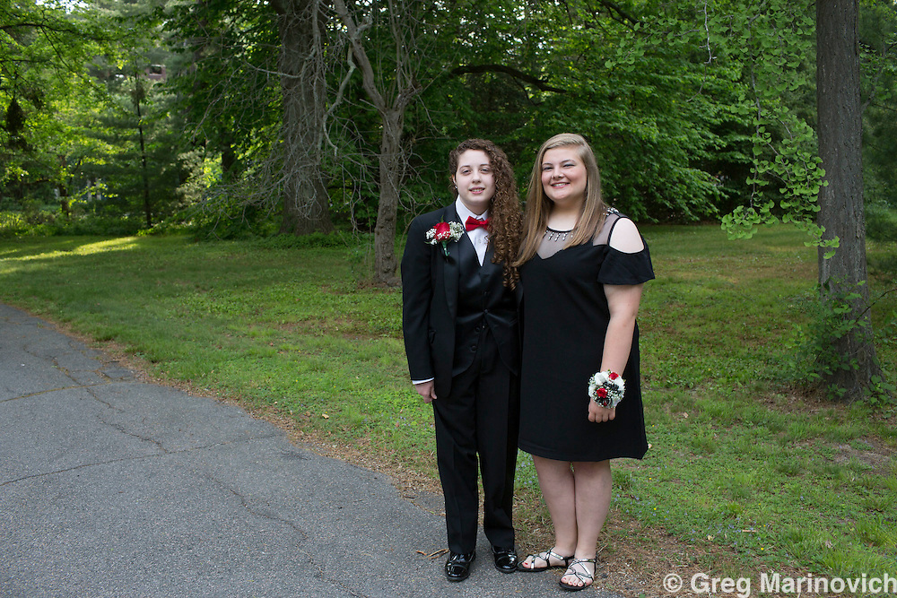 Milton high school prom, milton, MA. Photo Greg Marinovich