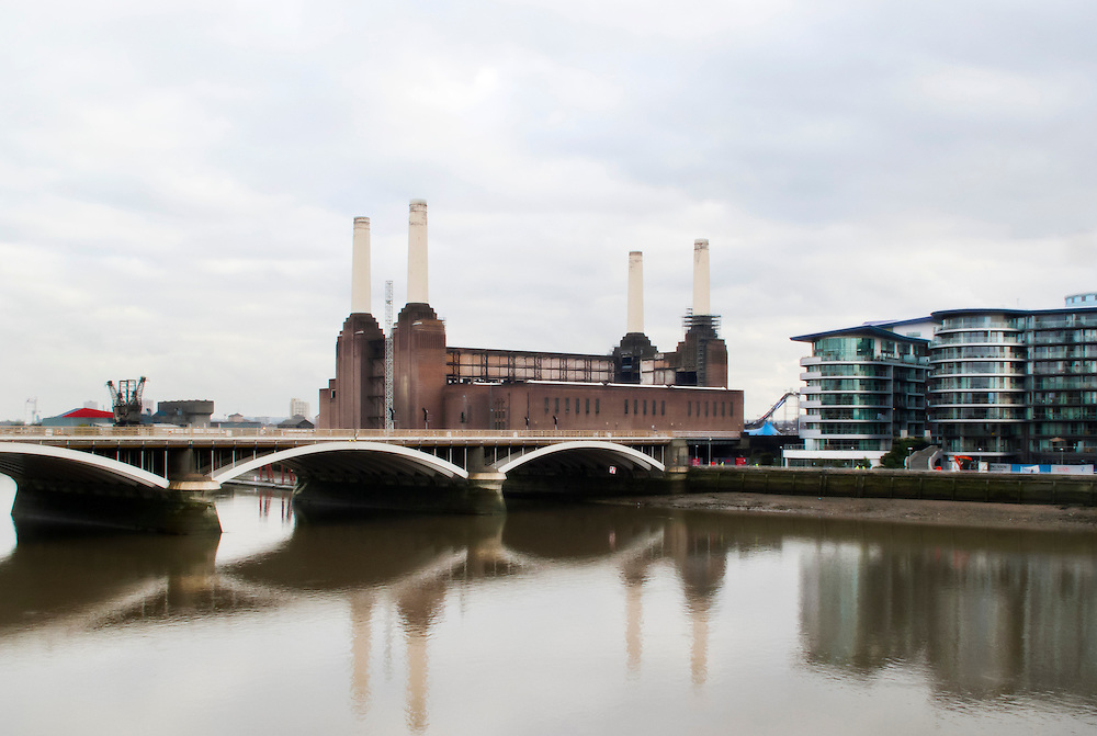 Battersea power station, London, UK