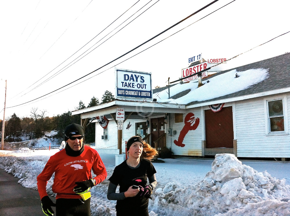 Gary Allen runs 700 miles from Maine to DC: Sarah Emerson runs