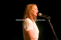 Joan Osborne  performing at Music For Youth's tribute to Bob Dylan at Avery Fisher Hall in Lincoln Center on November 9, 2006