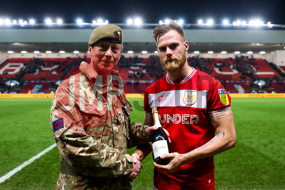 Bristol City Man of the Match Tomas Kalas - Rogan/JMP - 26/02/2019 - Ashton Gate Stadium - Bristol, England - Bristol City v Birmingham City - Sky Bet Championship.
