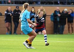 Becky Hughes of Bristol Bears Women - Mandatory by-line: Paul Knight/JMP - 19/01/2019 - RUGBY - Shaftesbury Park - Bristol, England - Bristol Bears Women v Worcester Valkyries - Tyrrells Premier 15s