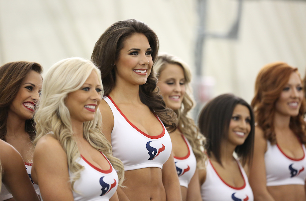 4/16/2014: Fewer and fear girls remain as they what to hear their name called. Fifty girls showed up on April 16, 2014 at the Houston Texans practice facility in Houston, Texas to see which 35 girls made the 2014-2015, Houston Texans Cheerleading Team.