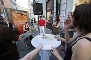 Vienna. Opening of Gerhild Amerer's Affaire De Coeur boutique.