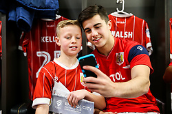 Liam Walsh of Bristol City looks on during the Mascot dressing room visit - Rogan/JMP - 27/01/2018 - Ashton Gate Stadium - Bristol, England - Bristol City v Queens Park Rangers - Sky Bet Championship.