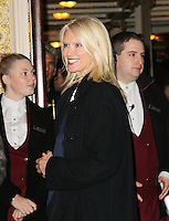 Anneka Rice, Strangers On A Train - press night, Gielgud Theatre, London UK, 19 November 2013, Photo by Richard Goldschmidt