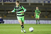 Forest Green Rovers Nathan Trueman(4) passes the ball during the The FA Youth Cup match between Bristol Rovers and Forest Green Rovers at the Memorial Stadium, Bristol, England on 2 November 2017. Photo by Shane Healey.