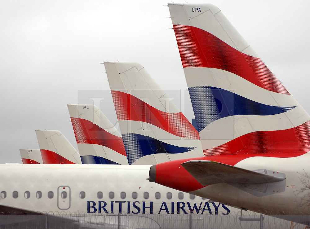 © under license to London News Pictures. 21/01/2011. FILE PICTURE dated 25/10/2010. British Airways general views. The result of the latest strike ballot of BA cabin crew is to be announced, on the same day as the company completes its merger with Spanish carrier Iberia. Photo credit should read: Stephen Simpson/LNP