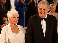 Judi Dench, Stephen Frears at the premiere of the film Victoria & Abdul at the 74th Venice Film Festival, Sala Grande on Sunday 3 September 2017, Venice Lido, Italy.