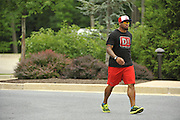 Veteran Ravens players show up at the Under Armour Performance Center in Owings Mills on Wednesday afternoon signaling the start of NFL training camp.