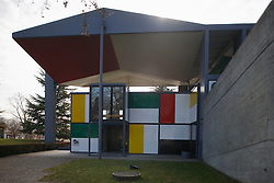 SWITZERLAND ZURICH 3MAR12 - Centre Le Corbusier in Zurich, Switzerland. It is the last building designed by the Swiss universal artist who is claimed by some to be as talented as Galileo and da Vinci... ..jre/Photo by Jiri Rezac....© Jiri Rezac 2012