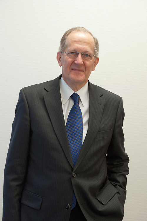 H.E. Joseph Deiss, President of the 65th General.Assembly of the United Nations, at his office at the UN, New York City in January 2011.
