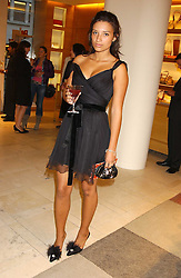 """DELILAH KHOMO at a party hosted by Christopher Bailey to celebrate the launch of """"The Snippy World of New Yorker Fashion Artist Michael Roberts"""" held at Burberry, 21-23 New Bond Street, London on 20th September 2005.<br /><br />NON EXCLUSIVE - WORLD RIGHTS"""