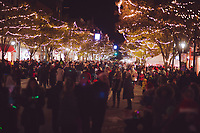Downtown Traverse City's first Christmas Light Parade Dec. 1, 2017.