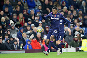 West Ham United defender Issa Diop (23) during the Premier League match between Burnley and West Ham United at Turf Moor, Burnley, England on 9 November 2019.