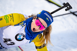 March 8, 2019 - –Stersund, Sweden - 190308 Mona Brorsson of Sweden looks dejected after the Women's 7.5 KM sprint during the IBU World Championships Biathlon on March 8, 2019 in Östersund..Photo: Johan Axelsson / BILDBYRÃ…N / Cop 245 (Credit Image: © Johan Axelsson/Bildbyran via ZUMA Press)
