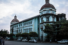 Rangoon (Yangon) Buildings, Burma (Myanmar)