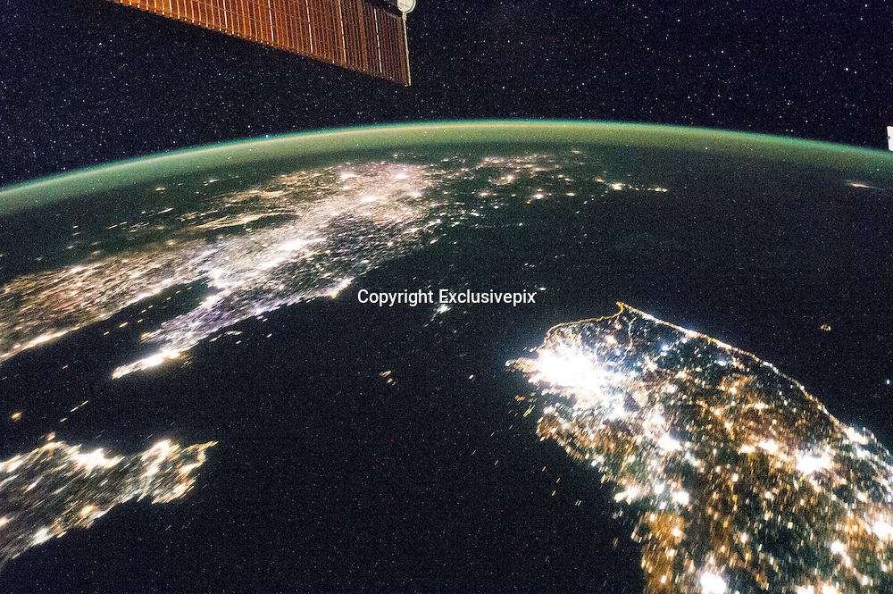 City's By Night<br /> <br /> NORTH KOREA: PAN--NORTH & SOUTH KOREA AT NIGHT<br /> ©Earth Observatory/Exclusivepix