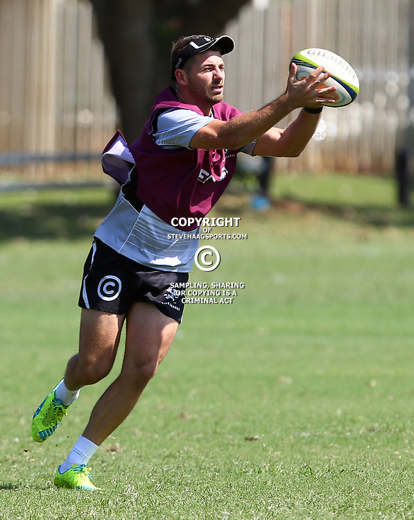 DURBAN, SOUTH AFRICA, 4 April, 2016 - Willie le Roux during The Cell C Sharks training session  at Growthpoint Kings Park in Durban, South Africa. (Photo by Steve Haag)<br /> images for social media must have consent from Steve Haag