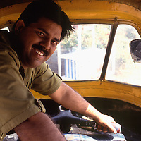 Tuc Tuc Driver, Delhi India. photograph photography