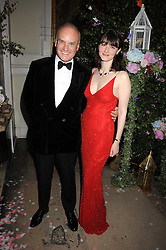 NICHOLAS & GEORGIA COLERIDGE at the Royal Academy of Art's Summer Ball held at Burlington House, Piccadilly, London on 16th June 2008.<br />