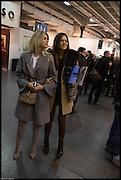 STEPHANIE ABRISHAMCHI; ANASTASIA SOLODOVNIKOVA, Art 14. Olympia Grand Hall. London. 27 February 2013.