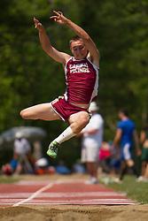 boys long jump, Maine State Track & FIeld Meet - Class B