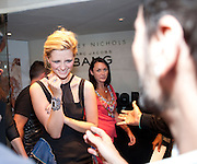 MISCHA BARTON;, Mark Jacobs' Bang' fragrance preview. Harvey Nicholls. London. 22 July 2010. -DO NOT ARCHIVE-© Copyright Photograph by Dafydd Jones. 248 Clapham Rd. London SW9 0PZ. Tel 0207 820 0771. www.dafjones.com.