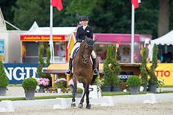 Donckers Karin, (BEL), Fletcha van't Verahof   <br /> Dressage - CIC3* Luhmuhlen 2016<br /> © Hippo Foto - Jon Stroud<br /> 17/06/16