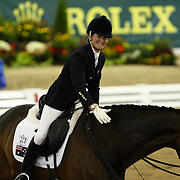 Sharon Jarvis and Applewood Odorado at the 2010 Alltech FEI World Equestrian Games, Lexington, Kentucky.