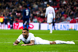 Callum Wilson of England lies on the floor - Mandatory by-line: Robbie Stephenson/JMP - 15/11/2018 - FOOTBALL - Wembley Stadium - London, England - England v United States of America - International Friendly
