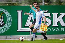Alvaro Brachi of NK Domzale during football match between NK Celje and NK Domžale in 27th Round of Prva Liga Telekom Slovenije 2016/17, on April 1, 2017 in Arena Petrol, Celje, Slovenia. Photo by Ziga Zupan / Sportida