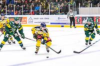 2020-01-15 | Umeå, Sweden:Södertälje (87) Hugo Gustafsson on the move in HockeyAllsvenskan during the game  between Björklöven and Södertälje at A3 Arena ( Photo by: Michael Lundström | Swe Press Photo )<br /> <br /> Keywords: Umeå, Hockey, HockeyAllsvenskan, A3 Arena, Björklöven, Södertälje, mlbs200115